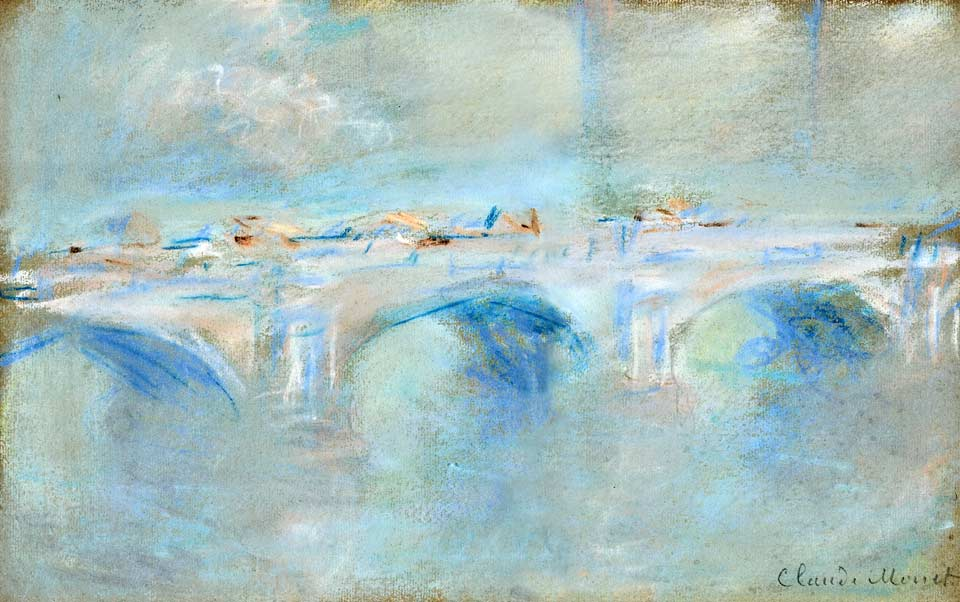 Claude Monet, Waterloo Bridge, London (1901)