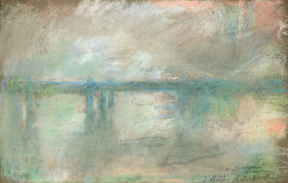 Claude Monet, Charing Cross Bridge, London (1901)